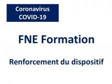 Élargissement du dispositif FNE-Formation à l'ensemble des entreprises qui  ont des salariés en activité partielle | Marie-Pierre CHAZELLE